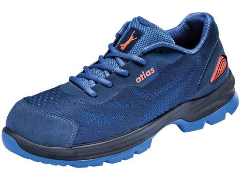ATLAS-S1P-Sicherheits-Arbeits-Berufs-Schuhe, Halbschuhe, FLASH 1005 XP, blau