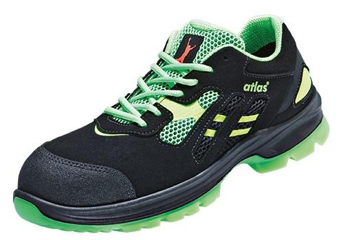 ATLAS-S1-Sicherheits-Arbeits-Berufs-Schuhe, Halbschuhe, FLASH 2600, Weite: 12, ESD
