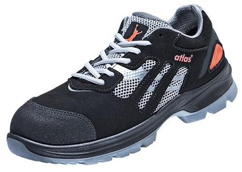 ATLAS-S1-Sicherheits-Arbeits-Berufs-Schuhe, Halbschuhe, FLASH 2000, Weite: 12, ESD, schwarz