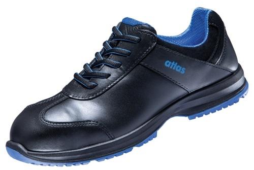 ATLAS-S2-Damen-Sicherheits-Arbeits-Berufs-Schuhe, Halbschuhe, GX 120 black, schwarz