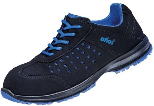 ATLAS-S1-Damen-Sicherheits-Arbeits-Berufs-Schuhe, Halbschuhe, GX 130 black, schwarz