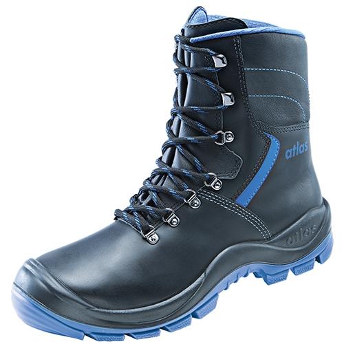 ATLAS-S3-Sicherheits-Arbeits-Berufs-Schuhe, hoch, Ergo-Med AB 846 XP, ESD, schwarz