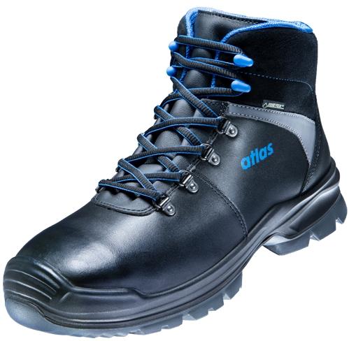 ATLAS-S3-Sicherheitsschuhe, GTX 785 GORE-TEX, Weite 10, schwarz/blau
