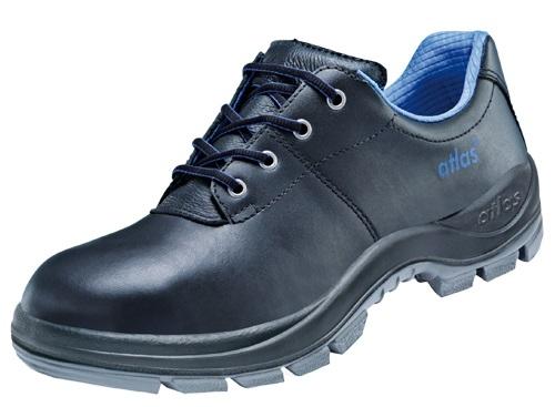ATLAS-S2-Sicherheits-Arbeits-Berufs-Schuhe, Halbschuhe, Duo Soft 480 HI, schwarz