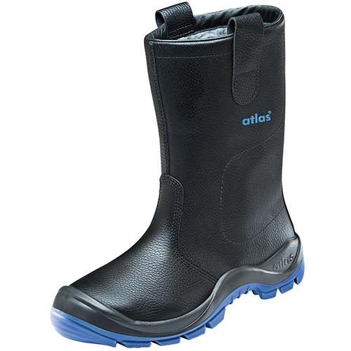 ATLAS-S3-CI-Winter-Sicherheits-Arbeits-Berufs-Schuhe, Anatomic Bau 822 XP, schwarz