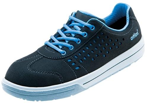 ATLAS-S1-Sicherheits-Arbeits-Berufs-Schuhe, Halbschuhe, A420, Sneaker Line, schwarz