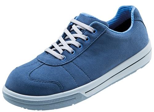 ATLAS-S2-Sicherheits-Arbeits-Berufs-Schuhe, Halbschuhe, A460, Sneaker Line, blau