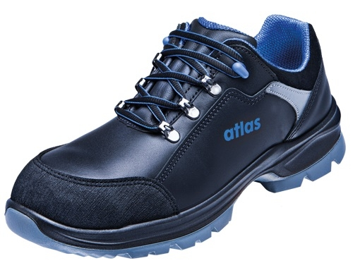 ATLAS-S2-Sicherheits-Arbeits-Berufs-Schuhe, Halbschuhe, TX 460, schwarz