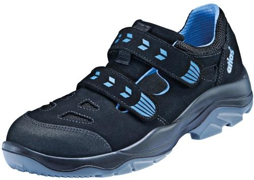 ATLAS-S1-Sicherheits-Arbeits-Berufs-Sandalen, TX 360, Weite 12, schwarz