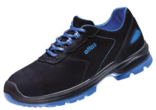 ATLAS-S2-Sicherheits-Arbeits-Berufs-Schuhe, Halbschuhe, Ergo-Med 600, ESD, schwarz