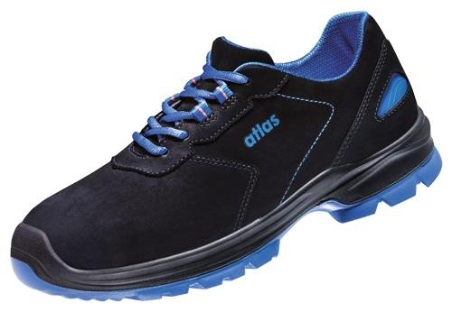ATLAS-S2-Sicherheits-Arbeits-Berufs-Schuhe, Halbschuhe, Ergo-Med 600, ESD, Weite 13 schwarz