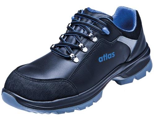 ATLAS-S3-Sicherheits-Arbeits-Berufs-Schuhe, Halbschuhe, Ergo-Med 465 XP, schwarz