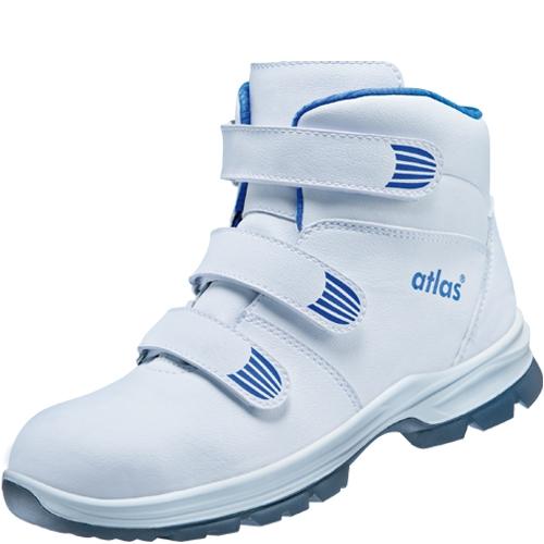 ATLAS-S2-Sicherheits-Arbeits-Berufs-Schuhe, Hochschuhe, CL 570, ESD, weiß