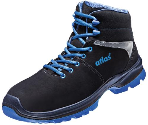 ATLAS-S2-Sicherheitsschuhe, ERGO-MED 80, ESD, Weite 13, schwarz/blau