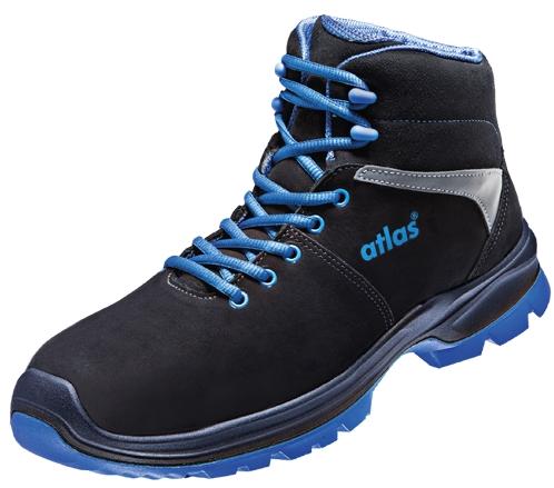 ATLAS-S3-Sicherheitsschuhe, ERGO-MED 805 XP, ESD, Weite 12, schwarz/blau