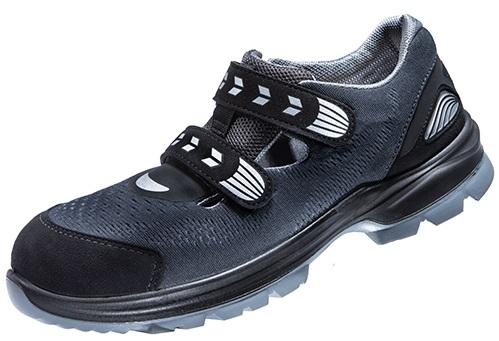 ATLAS-S1-Sicherheits-Arbeits-Berufs-Schuhe, Halbschuhe, SL 940 Boa, ESD, Weite 12, schwarz/blau