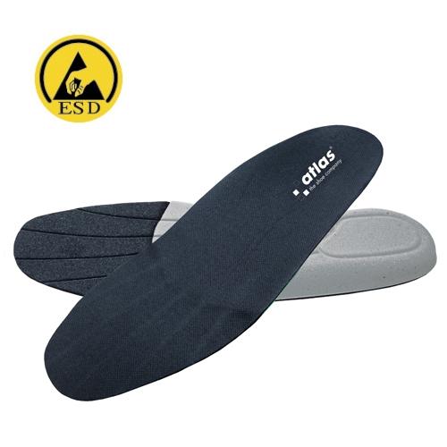 ATLAS-Schuh-Zubehör, Klima-Komfort-Einlegesohlen, antistatisch, atmungsaktiv