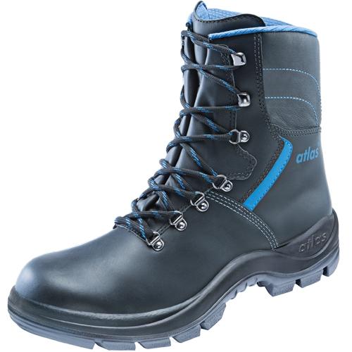 ATLAS-S3-Sicherheits-Arbeits-Berufs-Schuhe, hoch, Duo Soft 920 HI, schwarz