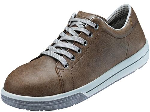 ATLAS-S2-Sicherheits-Arbeits-Berufs-Schuhe, Halbschuhe, A100, Sneaker Line, braun