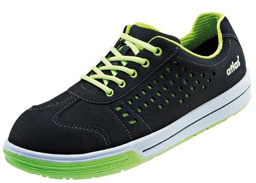 ATLAS-S1-Sicherheits-Arbeits-Berufs-Schuhe, Halbschuhe, A240, Sneaker Line, schwarz