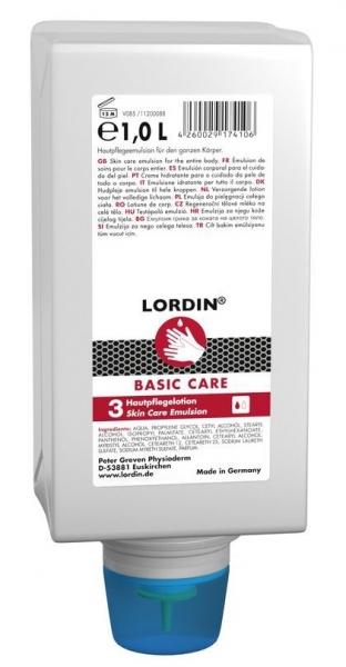 GREVEN-Hand-/Haut-Schutz-Pflege, Lordin Basic Care, Varioflasche, 1ltr., VE = 6 Stk.