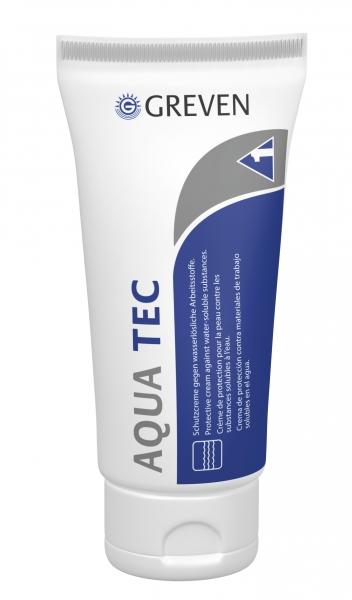 GREVEN-Hand-/Haut-Schutz-Pflege, HAUTSCHUTZCREME, Aqua-tec / Creme, 100 ml Tube
