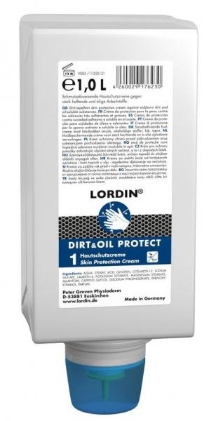 GREVEN-Hand-/Haut-Schutz-Pflege, HAUTSCHUTZ, Lordin Dirt&Oil Protect, 1000 ml Varioflasche