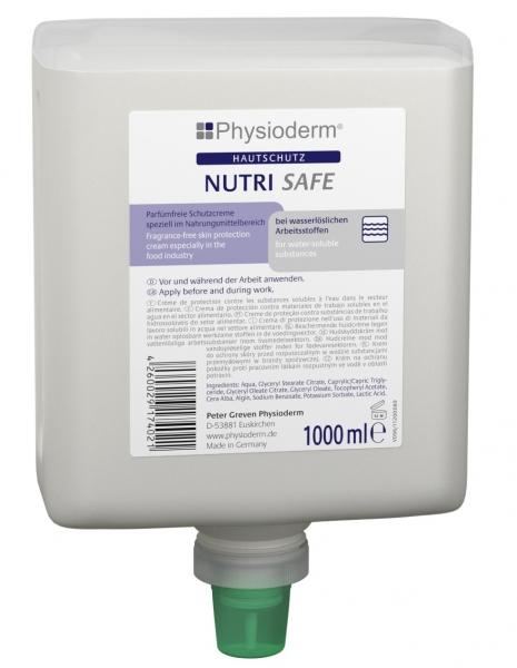 GREVEN-Hand-/Haut-Schutz-Pflege, HAUTSCHUTZ, Nutri Safe, 1000 ml Neptuneflasche