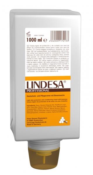 GREVEN-Hand-/Haut-Schutz-Pflege, HAUTSCHUTZCREME, `LINDESA PROFESSIONAL UNPARFÜMIERT`, 1000 ml Varioflasche
