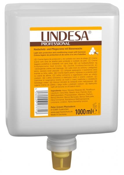 GREVEN-Hand-/Haut-Schutz-Pflege, HAUTSCHUTZCREME, LINDESA Professional, 1000 ml Neptuneflasche