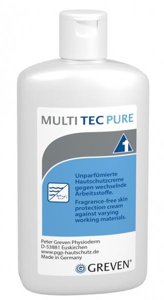GREVEN-Hand-/Haut-Schutz-Pflege, HAUTSCHUTZLOTION, `Multi-tec`, unparfümiert, 100 ml Flasche