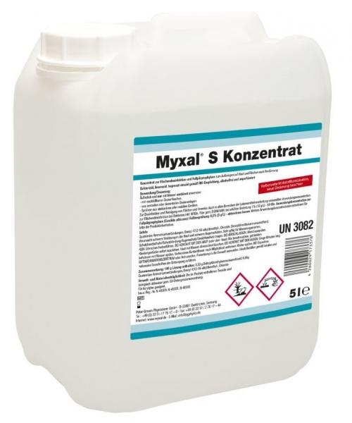 GREVEN-Reinigung-Desinfektion, FUSSPILZ-PROPHYLAXE, Myxal S Konzentrat, 5 L Kanister