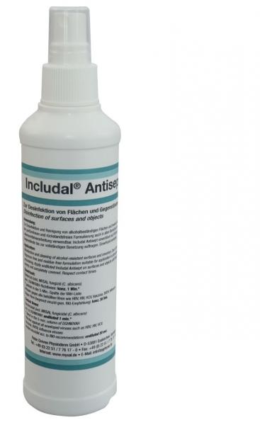 GREVEN-Reinigung-Desinfektion, OBER-FLÄCHENDESINFEKTION, Includal Antisept, 250 ml Sprühflasche
