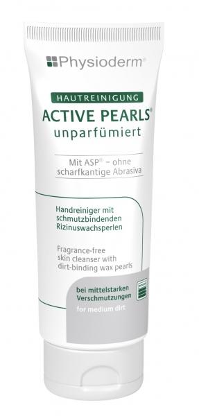 GREVEN-Hand-/Hände-Reiniger, HAUTREINIGUNG, Physioderm active pearls, unparfümiert, 200 ml Tubenflasche