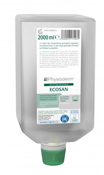 GREVEN-Hand-/Hände-Reiniger, HAUTREINIGUNG, Ecosan, 2000 ml Faltflasche