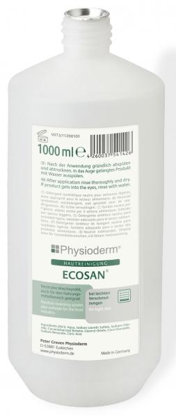 GREVEN-Hand-/Hände-Reiniger, HAUTREINIGUNG, Ecosan, 1000 ml Rundflasche