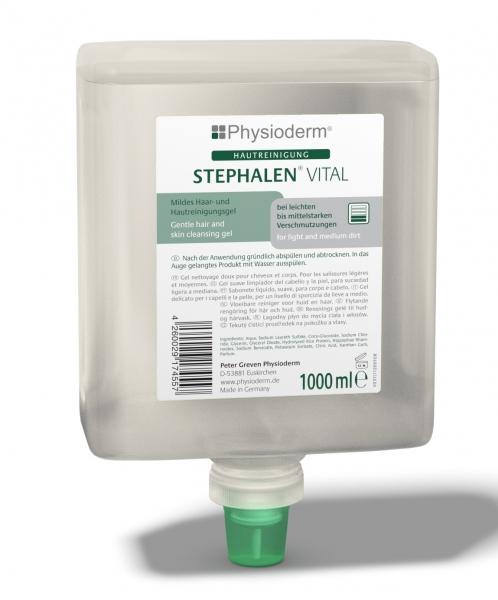 GREVEN-Hand-/Hände-Reiniger, HAUTREINIGUNG, Stephalen® Vital, 1000 ml Neptuneflasche