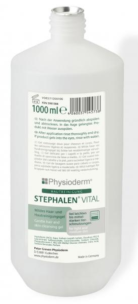 GREVEN-Hand-/Hände-Reiniger, HAUTREINIGUNG, Stephalen® Vital, 1000 ml Rundflasche