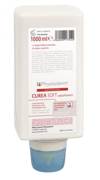 GREVEN-Hand-/Haut-Schutz-Pflege, HAUTPFLEGE, Curea soft, unparfümiert, 1000 ml Varioflasche