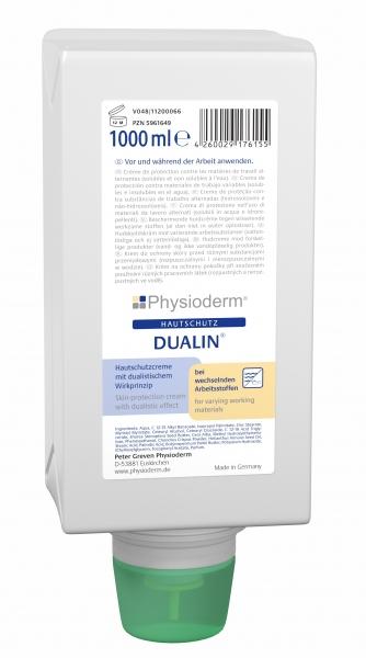 GREVEN-Hand-/Haut-Schutz-Pflege, HAUTSCHUTZ, Dualin, 1000 ml Faltflasche