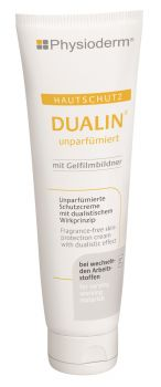 GREVEN-Hand-/Haut-Schutz-Pflege, HAUTSCHUTZ, Dualin, unparfümiert, 100 ml Tube