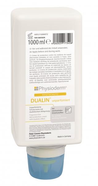 GREVEN-Hand-/Haut-Schutz-Pflege, HAUTSCHUTZ, Dualin, unparfümiert, 1000 ml Faltflasche