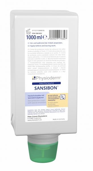 GREVEN-Hand-/Haut-Schutz-Pflege, HAUTSCHUTZ, Sansibon, 1000 ml Faltflasche