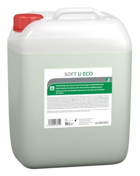 GREVEN-Hand-/Hände-Reiniger, HAUTREINIGUNG, Greven Soft U eco, 10 Liter Kanister
