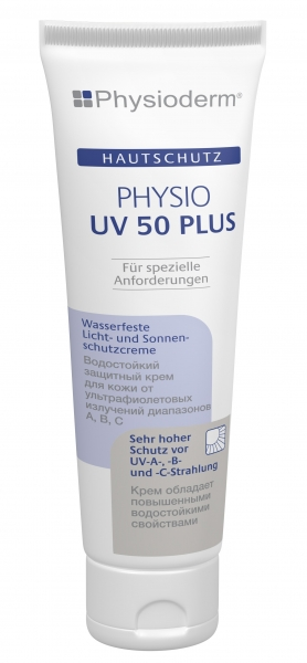 GREVEN-Hand-/Haut-Schutz-Pflege, HAUTSCHUTZ, Physio UV 50 plus, 100 ml Tube