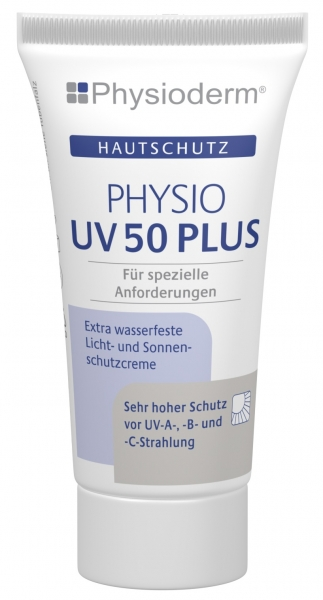 GREVEN-Hand-/Haut-Schutz-Pflege, HAUTSCHUTZ, Physio UV 50 plus, 20 ml Tube