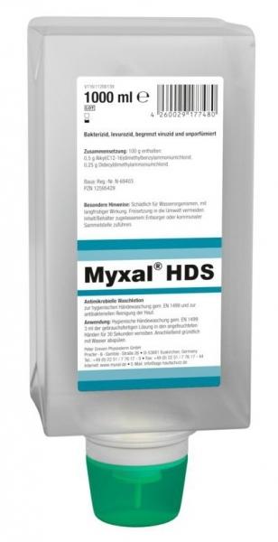GREVEN-Hand-/Hände-Desinfektion, HÄNDEDEKONTAMINATION, Myxal HSD, 1000 ml Varioflasche