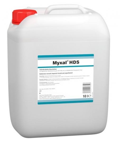 GREVEN-Hand-/Hände-Desinfektion, HÄNDEDEKONTAMINATION, Myxal HSD, 10-Liter Kanister