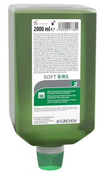 GREVEN-Hand-/Hände-Reiniger, REINIGUNGSLOTION, Ivraxo soft B/RS, 2 ltr. Varioflasche