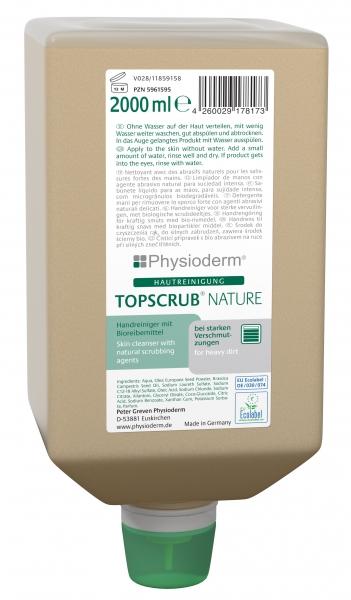 GREVEN-Hand-/Hände-Reiniger, HAUTREINIGUNG, Topscrub nature, 2000 ml Varioflasche